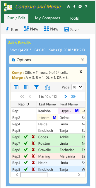 Excel Compare and Merge Help - Strive Technology