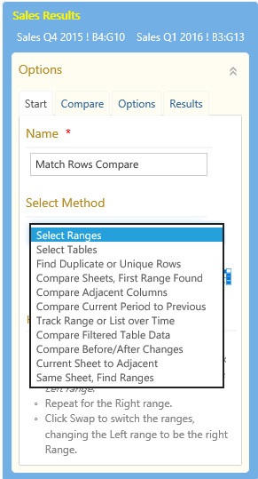 Excel Compare and Merge Help - Strive Technology - strivetech com/apps